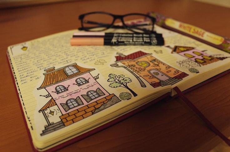 "Páči sa mi to: 26, komentáre: 3 – Dominika Imrichová (@ms_domca) na Instagrame: ""I love smell of sage 🍃  #journal #journaling #journaladdict #creativejournaling #doodle #creative…"""