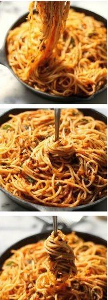 Pasta Italia Spaghetti Sederhana