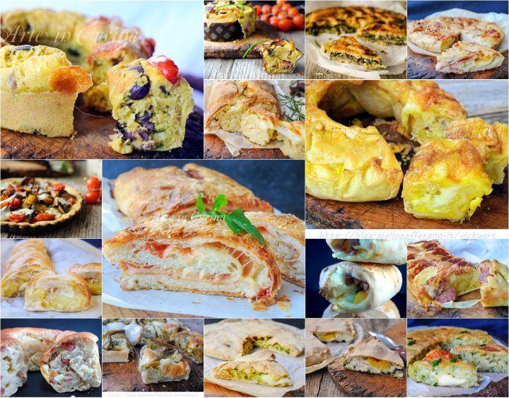 Torte salate e rustici, antipasto o piatto unico, per Pasqua e pasquetta, ricette economiche, ottime per pranzo o cena, ricette da asporto facili, economiche, sfiziose