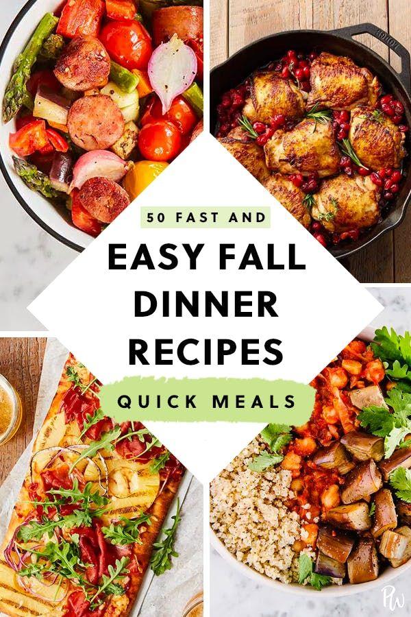 50 Easy Fall Dinner Ideas For Lazy