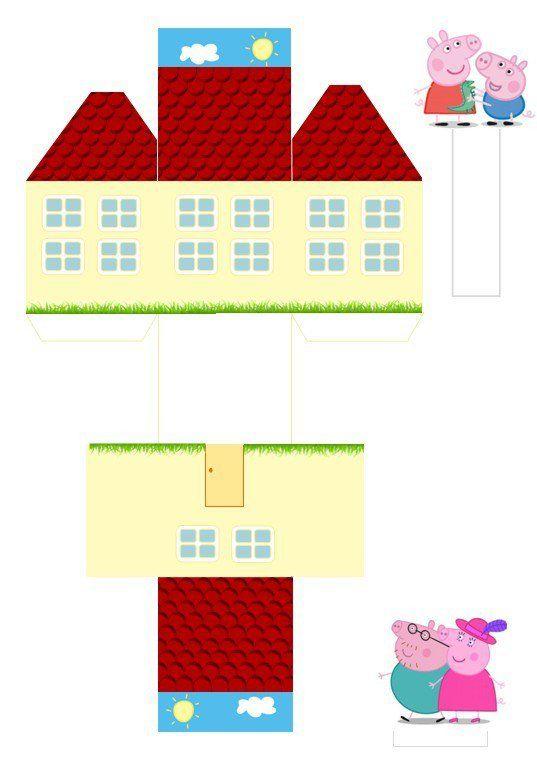17 mejores ideas sobre casa de peppa pig en pinterest - Casa del agua cumpleanos ...