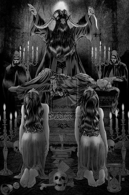 The Majick of Metal Part One: Theistic Satanism | CVLT Nation