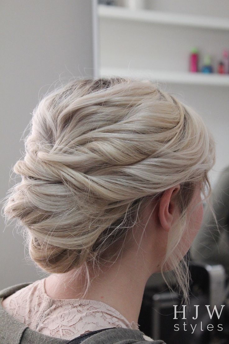 Messy French twist || @hjwstyles