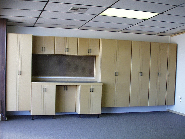 Garage cabinets. Instant space and a beautifully crafted home piece.
