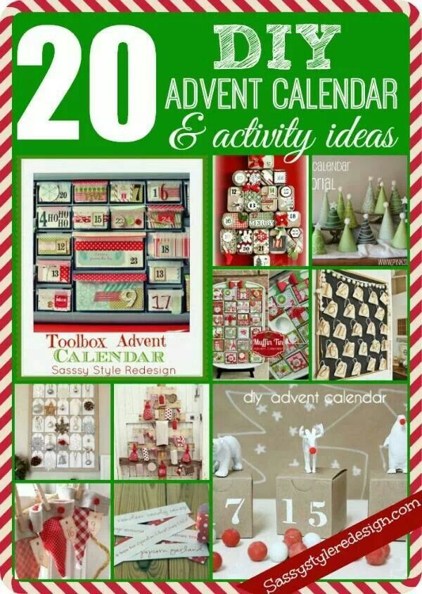 Advent Calendar List Ideas : Best advent calendars images on pinterest