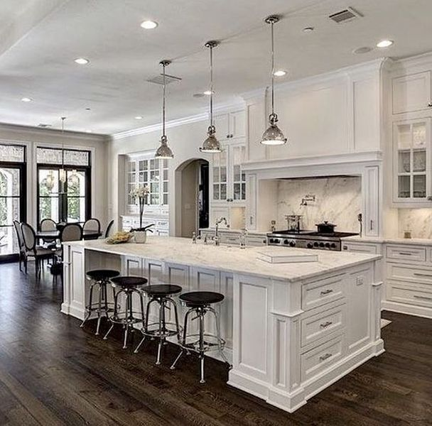 41 Lovely Chic Kitchen Renovation Ideas To Try Now White Kitchen