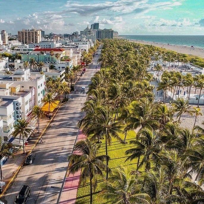 Ocean Drive Miami By Sirkaick