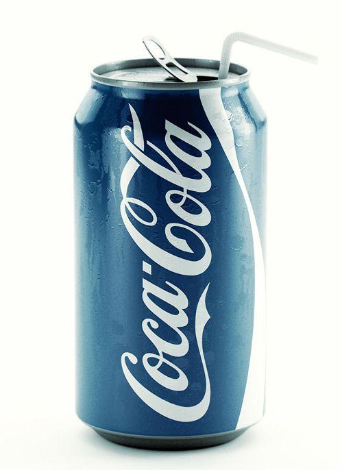 Blue Coca-Cola
