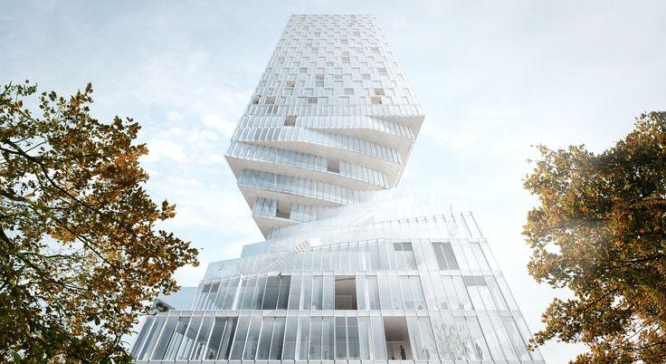 MVRDV gana concurso para construir torre 'torcida' en Viena