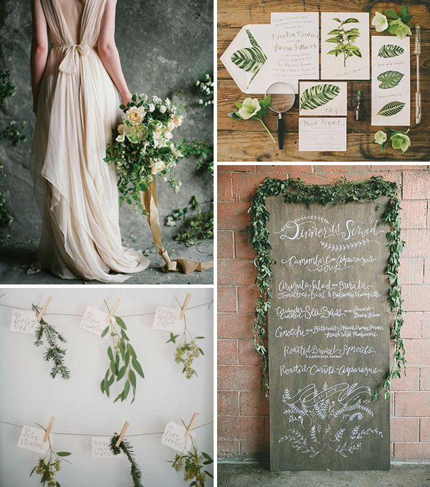 Beautiful Botanics - A new kind of boho wedding for 2016! www.onefabday.com