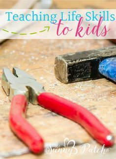 Life skills like balancing a checkbook or making a budget are just as important as other homeschooling lesson plans. Don't forget to teach your kids these important life skills! (free printable included!)