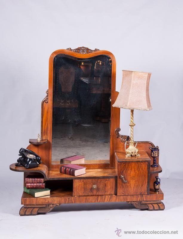 Mueble recibidor art dec con espejo antig edades - Mueble art deco ...