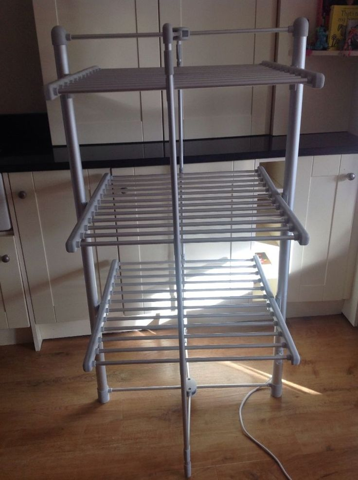 Heated clothes horse dunelm