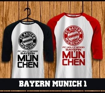 Raglan bayern Munich online tshirt,kaos,polo,raglan,distro,sablon,coreldraw,photoshop
