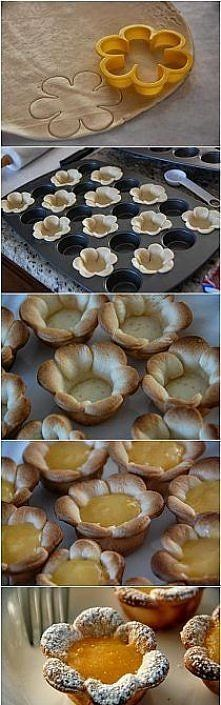 What a cute idea for little spring pies! My kids would love this.