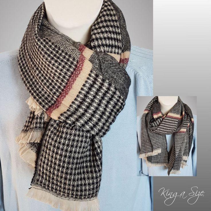 Herren Schal / Winterschal / Loopschal / men's scarf / Halstuch / Wollschal W7