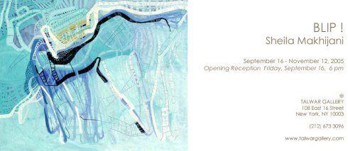 Sheila Makhijani Talwar Gallery New York