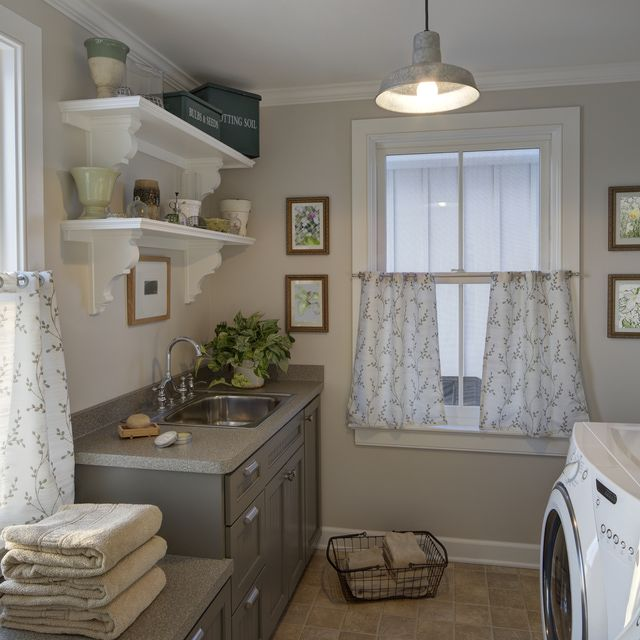 5 Best Paint Colors For Your Laundry Room: Number 2 - Neutrals | Smelly Laundry?| Washer Odor? | http://WasherFan.com | Permanently Eliminate or Prevent Washer & Laundry Odor with Washer Fan™ Breeze™ |#Laundry #WasherOdor#SWS