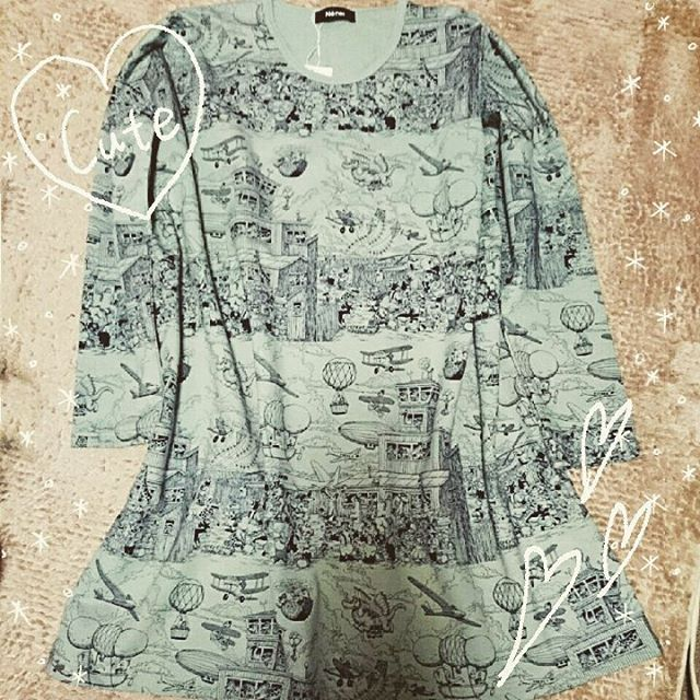 Instagram media ayamya_ - * 昨日買ったワンピース♡ かわいー!  #ネネット #ラスムス #ラスムスクルンプ #ワンピース