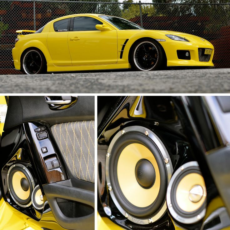 PART 1 What do you think of this Maxda RX8? It features:   Head Unit: Clarion NX700A Front Speakers: Focal 165KRX3 Rear Speakers: Focal 165KRXS Rear Speakers: (Boot lid) Focal 165KR2 Subwoofers: Rockford Fosgate Screens: Clarion 5″ screen in the rear of the console and 10.2″ overhead Extras: Custom iPod dock Built by a company in Melbourne