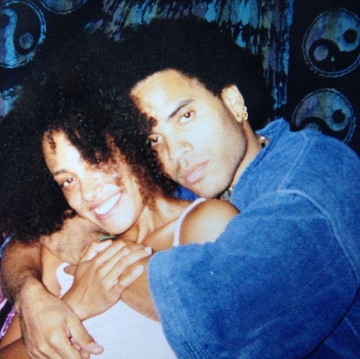 Cree Summer & Lenny Kravitz