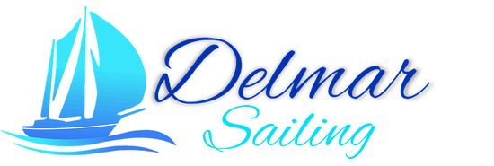 Delmar Sailing Logo. Delmar Sailing Gulet Holiday! Come sail with us.