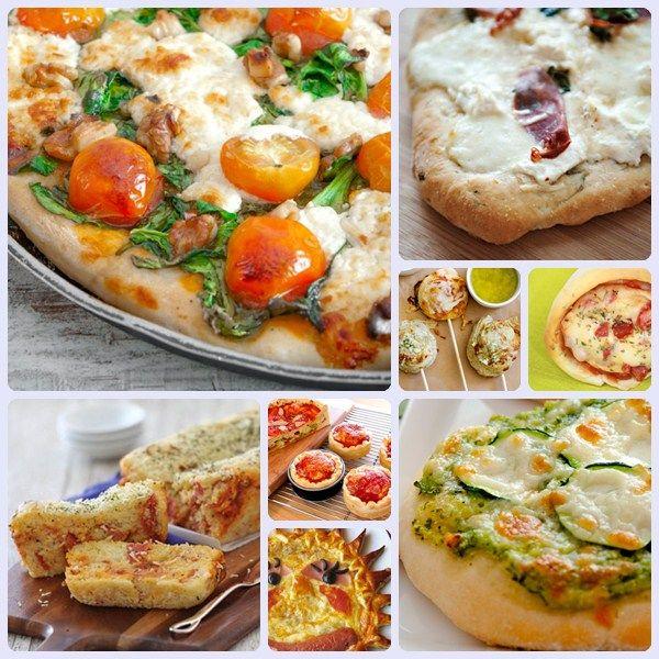 8 clases de pizzas caseras. Sugerencia del chef: pizza casera con extra de mozzarela, tomate cherry, ventresca Campos y rúcula. ¡Impresionante!
