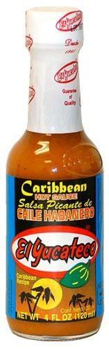 El Yucateco Caribbean Habanero Hot Sauce