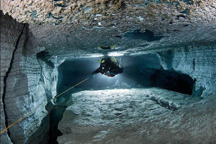 longest underwater cave in russia ordinskaya orda cave (10)