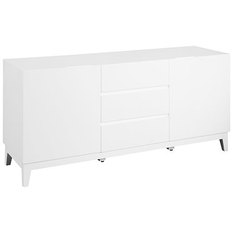 Axis 2 Door/3 Drawer Buffet  White