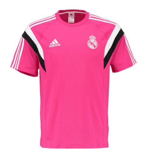 Real Madrid Training T-Shirt - Pink Real Madrid Official Merchandise Available at www.itsmatchday.com