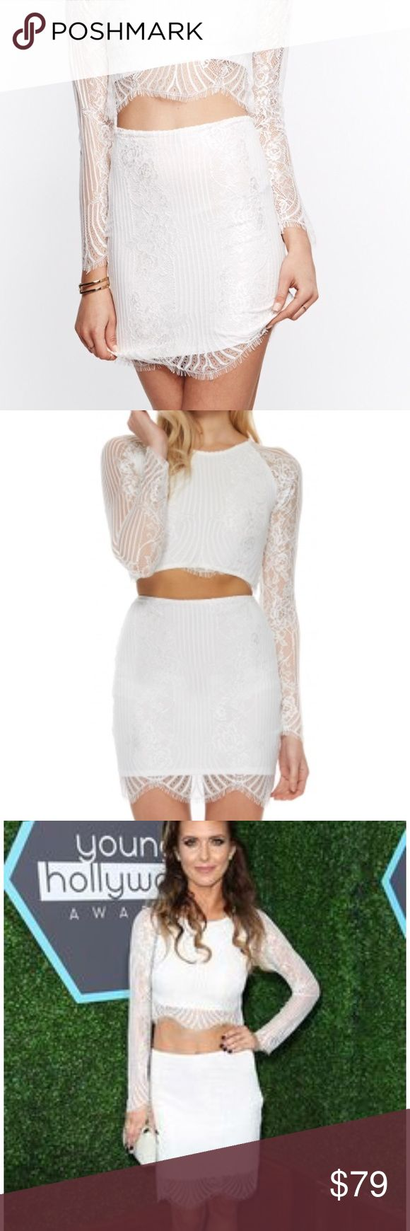 For Love and Lemons Lolo Skirt NWT For Love And Lemons Skirts Mini