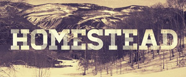 Homestead ( Free Fonts for Designers - Download Now )