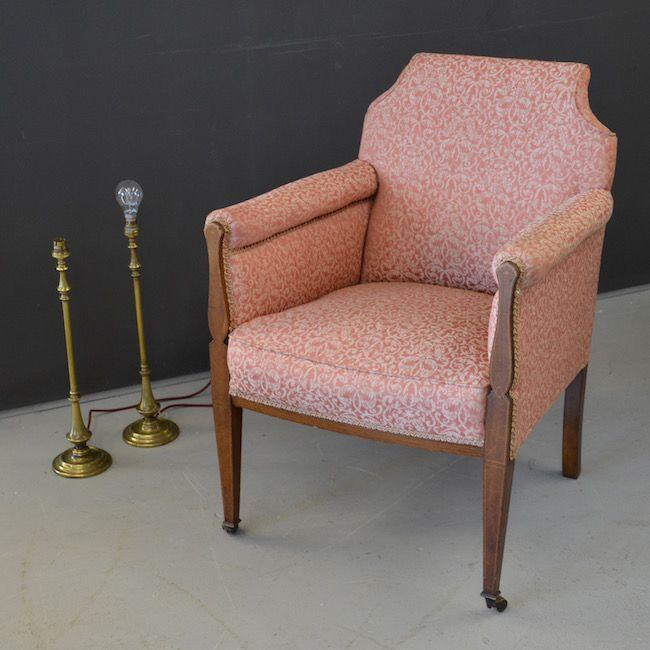 [3029] . Antique Armchair