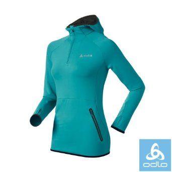 Odlo Womens Famous Running Hoodie: Amazon.co.uk: Clothing