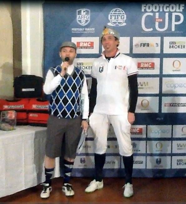 Paolo Parodi secondo classificato alla FootGolf Cup 2014