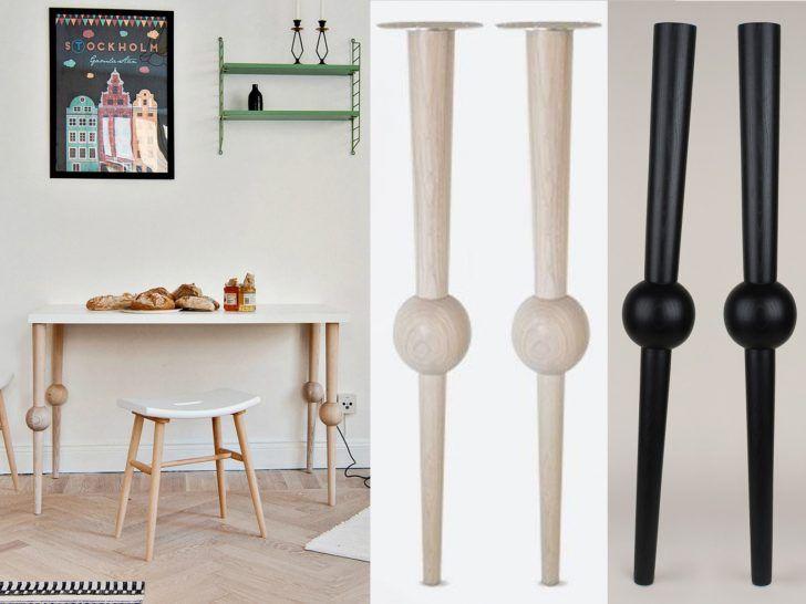 Pieds Table Haute Bois Castorama Pied En Fer Design Leroy Merlin
