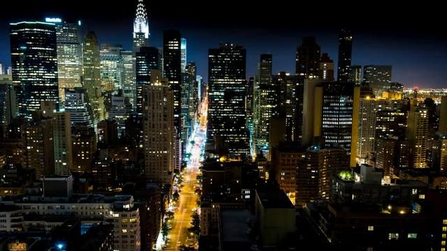 The city that never sleeps - Cameron Michael
