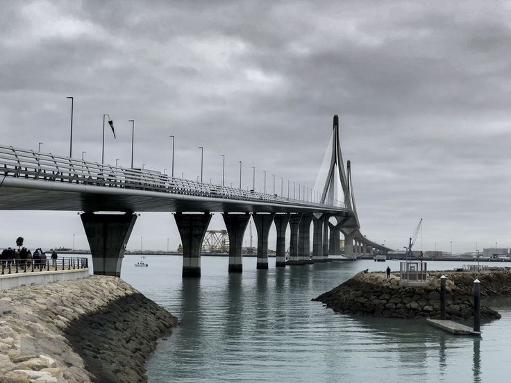 Puente Constitucion/La PepaMy morning walk today
