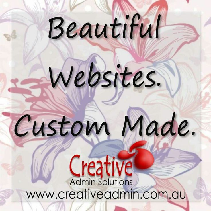 Websites - by Creative Admin Solutions