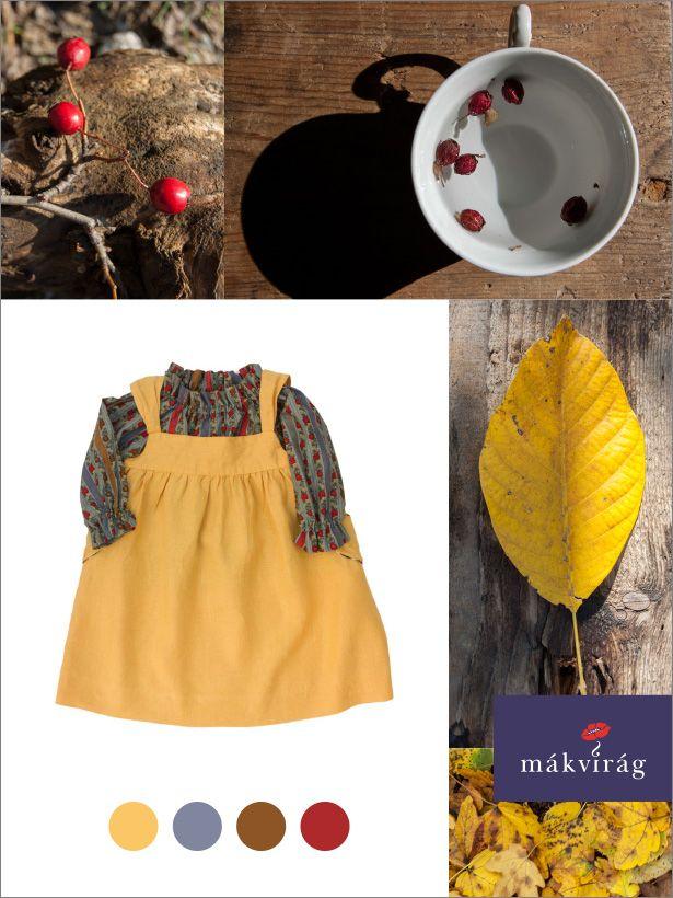 Mákvirág — Autumn colours: yellow