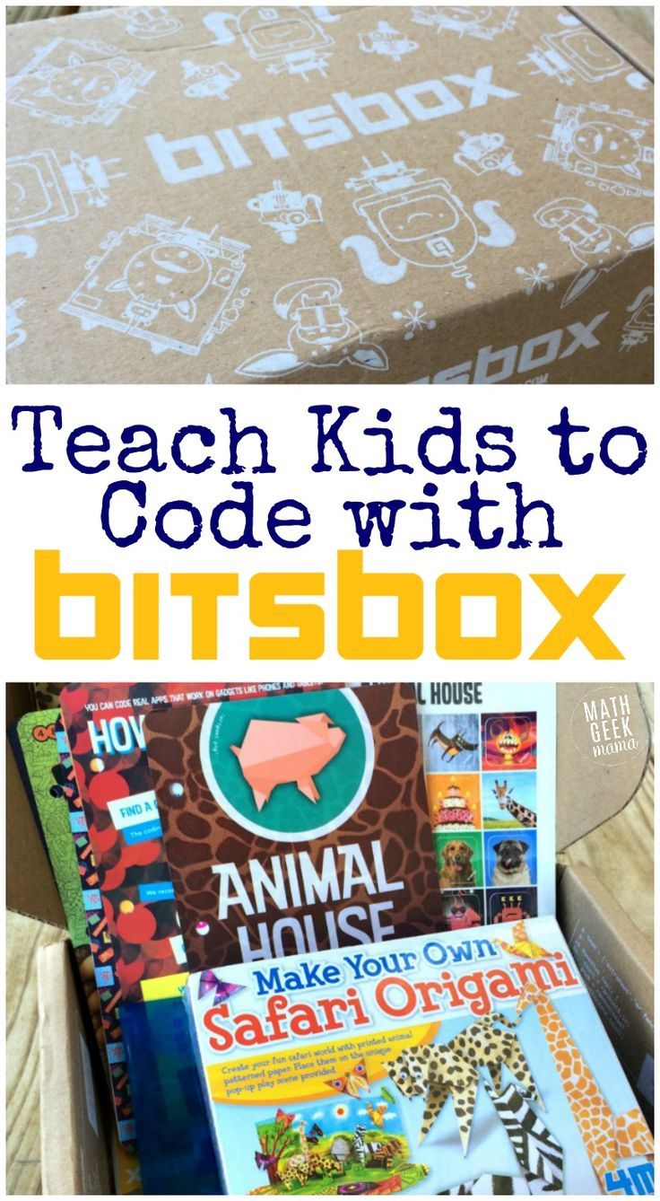 Looking for a fun and non-threatening way to teach kids to code? Bitsbox makes it easy, and you don't even have to know code yourself! Learn computer programming alongside your kids with this fun resource.