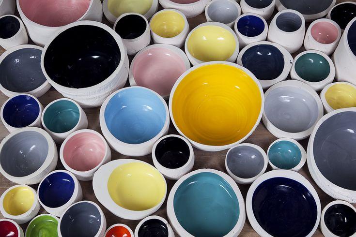 Extrusion bowls - Apparatu