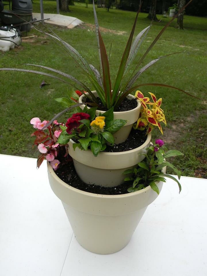 Triple Planter DIY