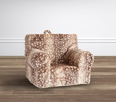 My First Anywhere Insert And Slipcover Set Fawn Faux Fur