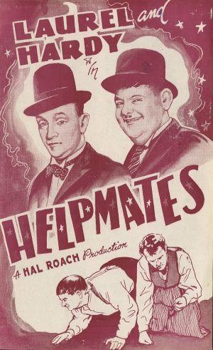 Laurel and Hardy film Helpmates (1932) Hal Roach https://www.youtube.com/user/PopcornCinemaShow
