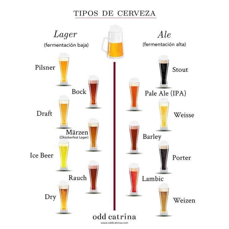 Resultado de imagen de cerveza artesanal clases