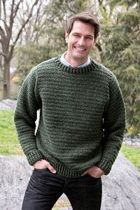 Father Pullover: Men's Crochet Sweaters - free patterns your guy will love! #crochet