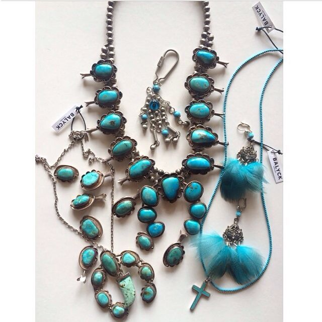 Balyck turquoise and feathered designs #turquoise #feathers #jewellery #designer
