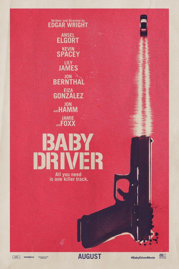 BABY DRIVER (2017): After being coerced into working for a crime boss, a young getaway driver finds himself taking part in a heist doomed to fail.